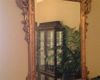 Gold mirror - gorgeous and ornate
