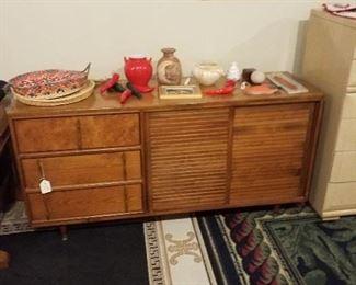 mid-century dresser/credenza