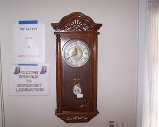 NEWER WALL CLOCK