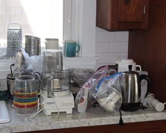 CUISINART AND KITCHEN ITEMS