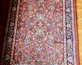 3 small entry carpets