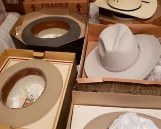 Nice Stetson and Other Hats size 7