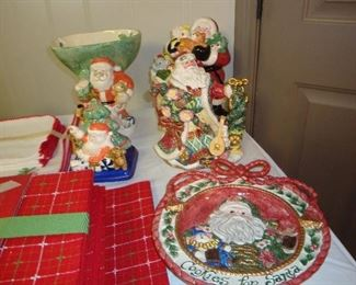 Fitz and Floyd Christmas pieces