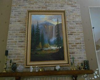 beautiful oil painting, collectables