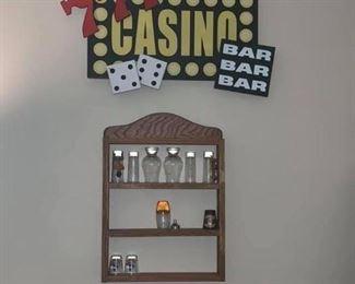 Casino Wall Decor