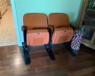 Two Stadium Seats from The ASTRODOME!