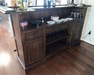 Awesome Bar Holds Everything You Need for Serving Friends and Family