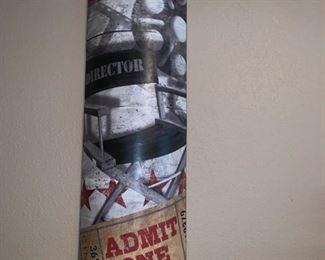 Metal Wall Art Movie Time!