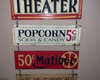 Home Movie Night Decor