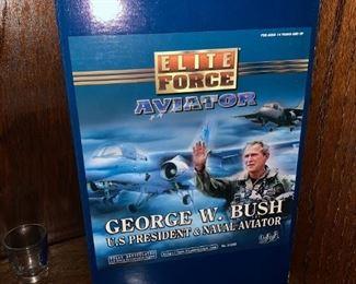 "Elite Force Aviator: George W. Bush - U.S. President and Naval Aviator - 12"" Action Figure"