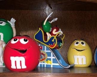 Ceramic  M & M Containers