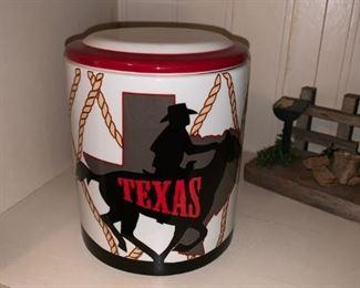 Ceramic Texas Cookie Jar