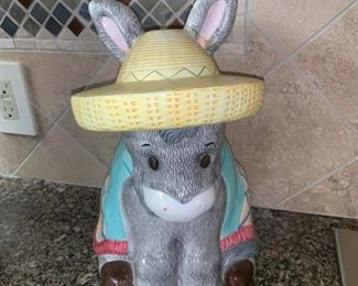Donkey Cookie Jar