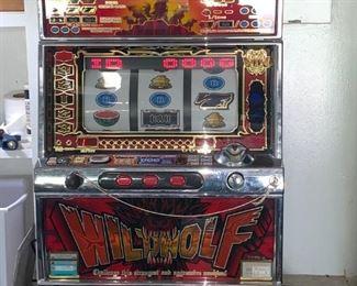 Yamasa – Wildwolf Slot Machine