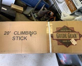 20' Climbing Stick New in Box