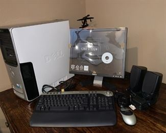 Dell PC, Monitor, Keyboard and More