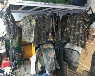 Just a Few of the Hunting Gear!