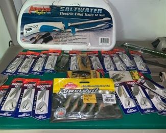 Fishing Lures!!! Lots of Rooster Tails