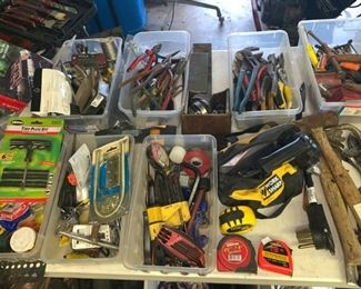 Pliers, Screwdrivers, Measuring Tapes, Hammers, Sockets, Wrenches and More!