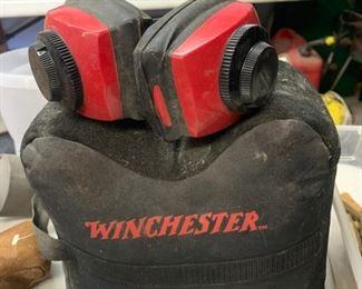 Winchester Gun Rest, Ear Protectors