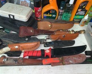 Hunting Knives....Several