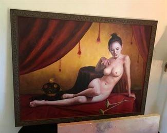 Signed Nude Oil