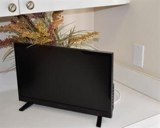 flatscreen telelvision or monitor