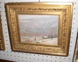 Nicholos S. Macsoud oil painting