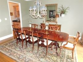 Dining room table & 8 chairs  $1,500
