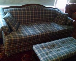 Sofa with ottoman/bench