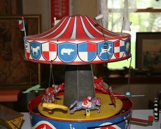 Vintage Tin Carousel