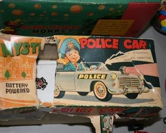 Vintage Police Car