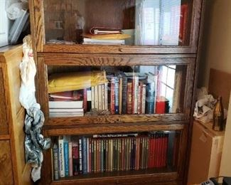 Bad Picture. Wonderful Lawyer's Cabinet/Bookcase.