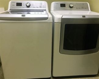 Maytag  Bravos XL washer and dryer.