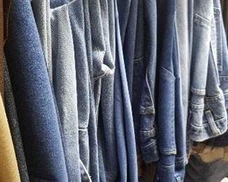 lots of men's jeans