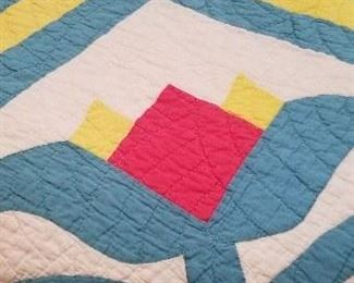 Several quilts