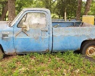 1973 GMC Project truck