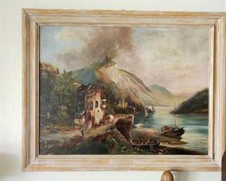 Original Vintage Piece signed by Maker