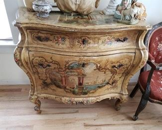 Beautiful and Outstanding this Antique Bombe Chest would look great in any home.