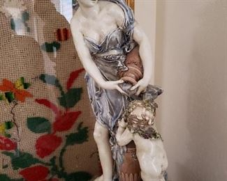 This is a fantastic large Italian Statue