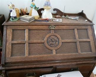 Just a suggestion of this wonderful Secretary desk...better photo to come.