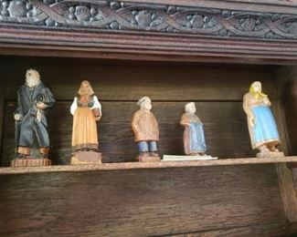 Wooden Carved Figurines