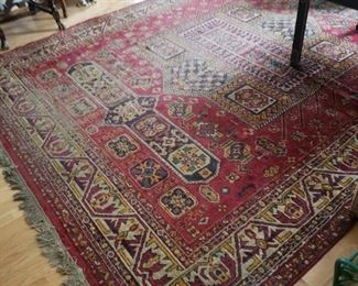 Very Large Persian Style Wool Carpet