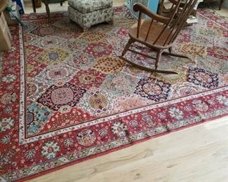 Very Large  Persian Style Carpet