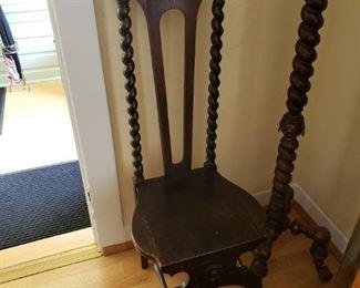 Wonderful Antique Butler Chair