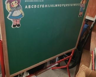 Raggedy Ann and Andy Erase Board