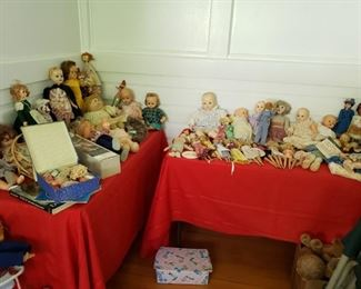 Dolls of all kinds