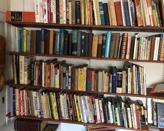 lots of art books