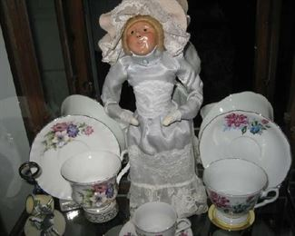 Breyer caroller doll