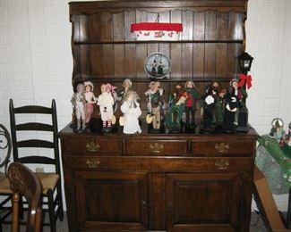 "china Hutch & Breyer carolers ""A Christmas Story"" characters"